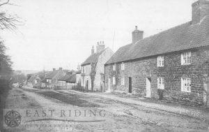 village street, Howsham 1908