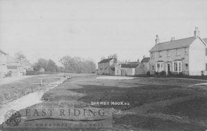 Village street, Barmby Moor c.1900s