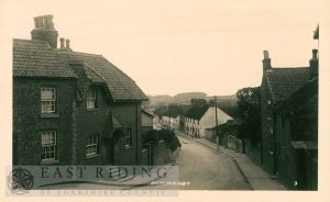 Stonegate from west, Hunmanby 1921