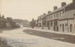village street, Hunmanby 1920