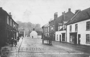 Bridlington Street from south east, Hunmanby 1914