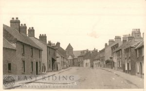 Bridlington Street from south east, Hunmanby 1924