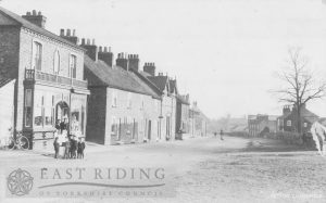 Front Street from west, Hutton Cranswick 1909