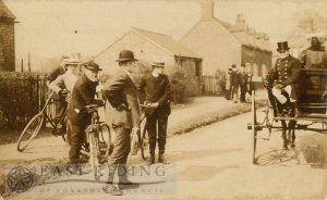 Reverend R W Wheatley Centre, Hutton Cranswick 1907