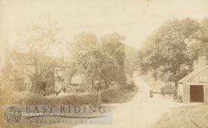 village street, Kirby Underdale 1915
