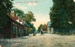 Packman Lane from south east, Kirkella  1911