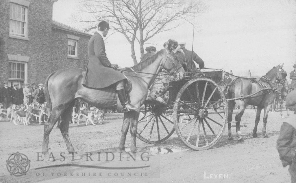hunt at Leven 1900