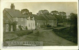 Front Street from west near bridge, Lockington 1911
