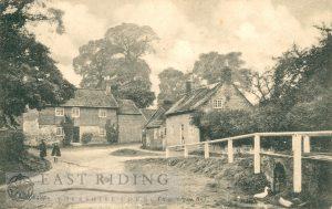 village street with ford, Lockington 1906