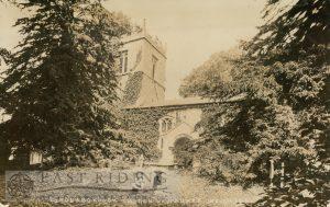 All Saints Church from south east, Londesborough 1900