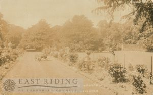 Londesborough Hall gardens, Londesborough  1910