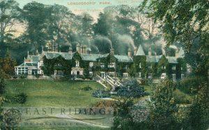 Londesborough Park, Londesborough  1906