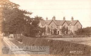 The Elms, Lowthorpe 1920