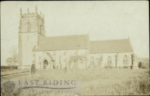 All Saints Church from south east, Lund 1900