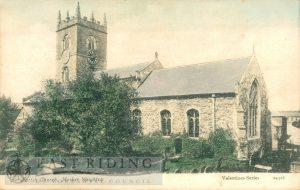 All Saints Church from south east, Market Weighton 1907