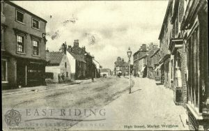High Street from south east, Market Weighton 1904