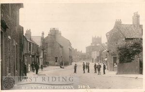 High Street from south east, Market Weighton 1921