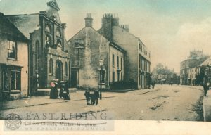 High Street and Primitive Methodist Chapel from south east, Market Weighton 1900