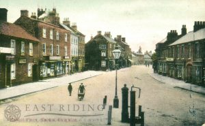 Market Place from north west, Market Weighton 1900