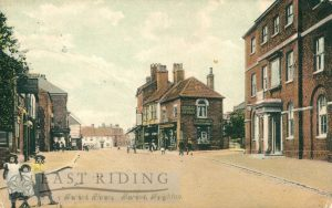 Market Place from south east, Market Weighton 1900
