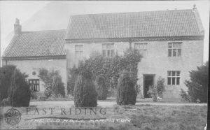 The Old Hall, Barmston  c.1900s
