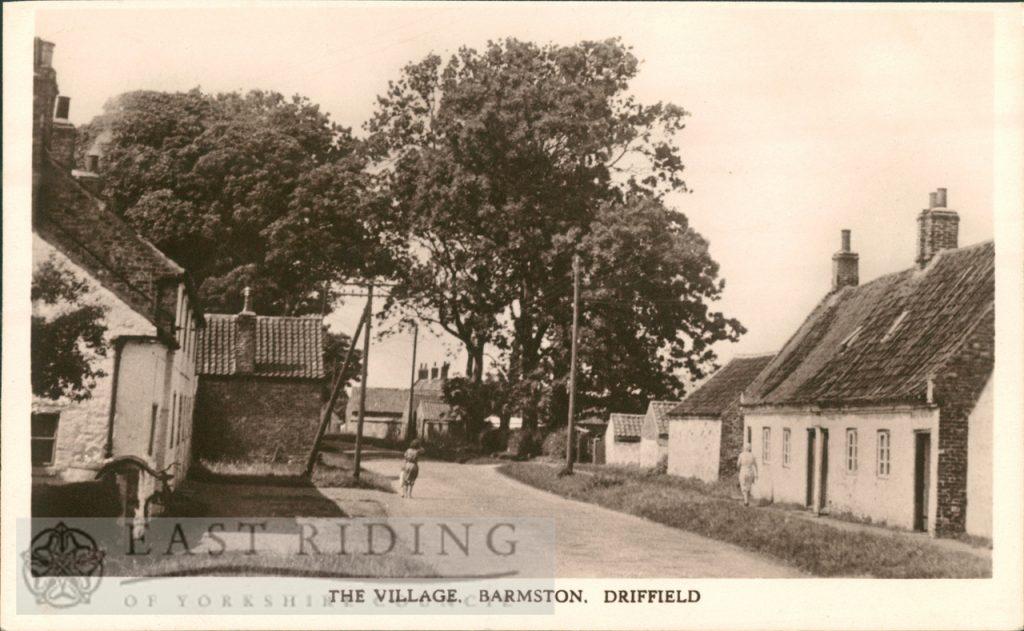The Village, Barmston 1950