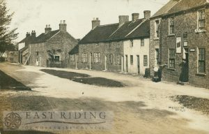 village street, Middleton-on-the-Wolds 1907
