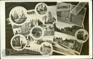 11 small views, Middleton-on-the-Wolds  1907