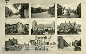 8 small views, Middleton-on-the-Wolds 1908