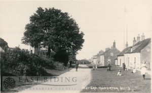 West End from south west, Nafferton 1920