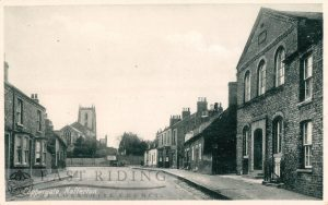 Coppergate from east, Nafferton 1900
