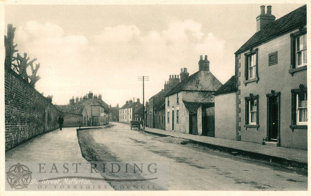 High Street from south, Nafferton 1913