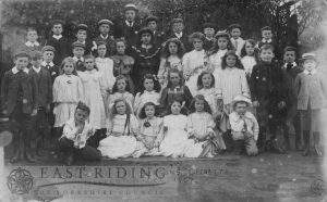 Nafferton C E  School scene in part 1, operetta 'Queen of the Seasons', Nafferton 2831