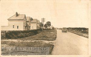 Newport Road, North Cave  1922