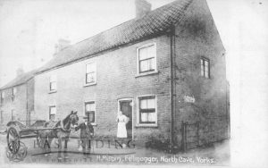 H Rispin (fellmonger) and house, North Cave 1900
