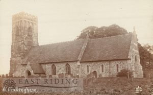 St Elgin's Church from south east, North Frodingham  1910