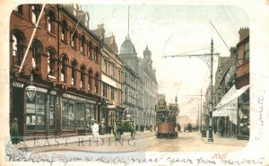 Carr Lane from west, Hull 1902