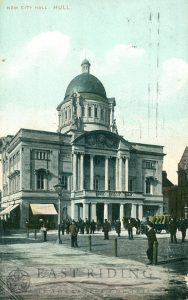 City Hall from south east, Hull 1906