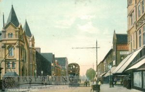 Hessle Road from east, Hull 1907