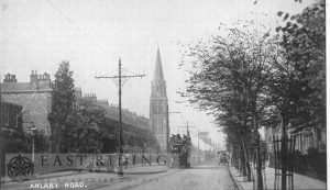 Anlaby Road from east, Hull 1900s