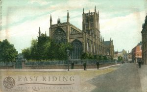 Holy Trinity Church from north east, Hull 1900s