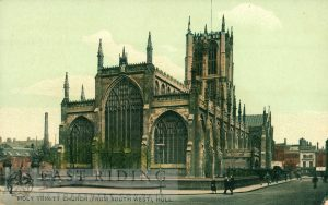 Holy Trinity Church from north east, Hull 1907