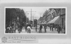 King Edward Street from south east, Hull 1912