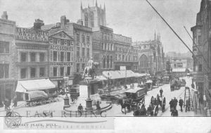 Market Place from south east, Hull 1907