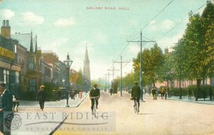 Anlaby Road from east, Hull 1910