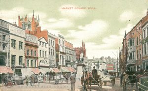 Market Place from south east, Hull 1911