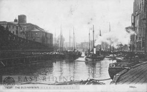 River Hull, Queen's Dock, Hull 1905