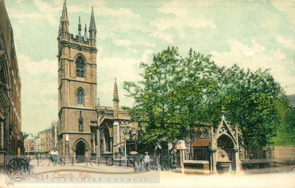 St Mary's Church, Lowgate, Hull 1900s