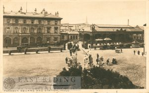 Paragon Station and Square, Hull 1921