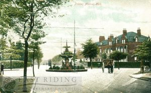 Princess Avenue from north east, Westbourne Avenue junction, Hull 1900s